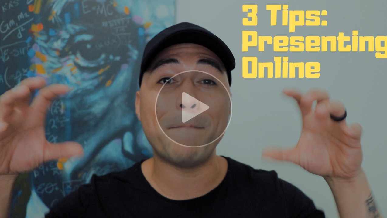 max knowles 3 tips on presenting online
